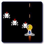 بازی موشك فضایی جنگنده